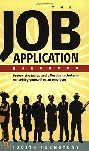9781857039924: The Job Application Handbook: 6th edition