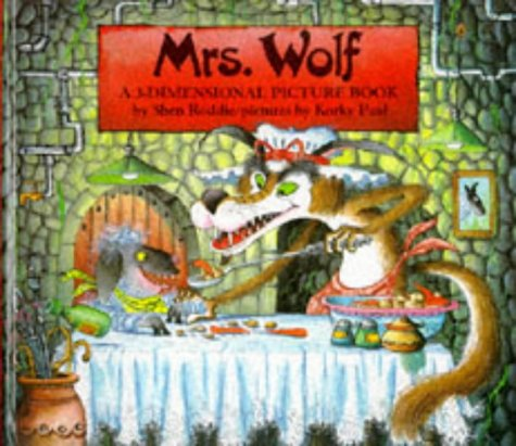 9781857070064: Mrs. Wolf: A 3-Dimensional Picture Book