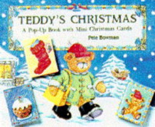 9781857070590: Teddy's Christmas: A Pop-up Book with Mini Christmas Cards