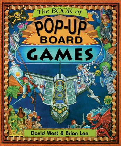 9781857071566: The Book of Pop-Up Board Games: 4 Games, Attached Spinner
