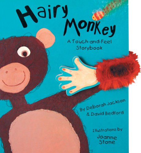 9781857075465: Hairy Monkey: Touch & Feel Storybook
