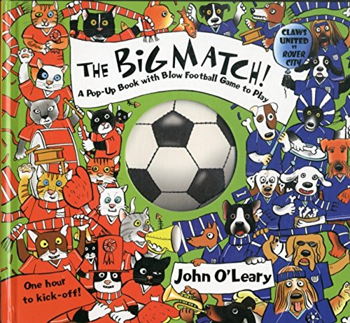 9781857078077: Big Match: A Pop-Up Book with a Blow Football Game to Play
