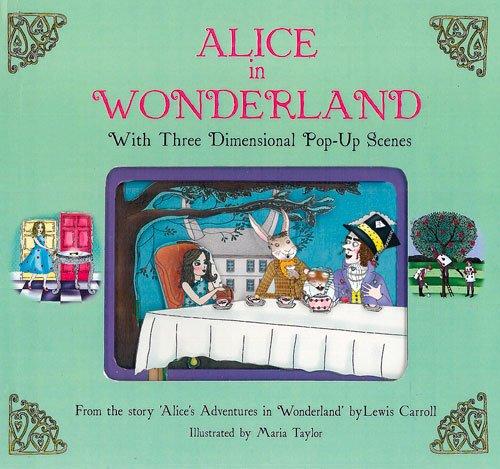 9781857078145: Alice in Wonderland: With Three Dimensional Pop-Up Scenes