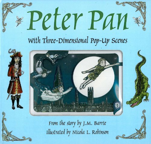 9781857078282: Peter Pan: With Three-Dimensional Pop-Up Scenes (Fairytale Pop-ups)