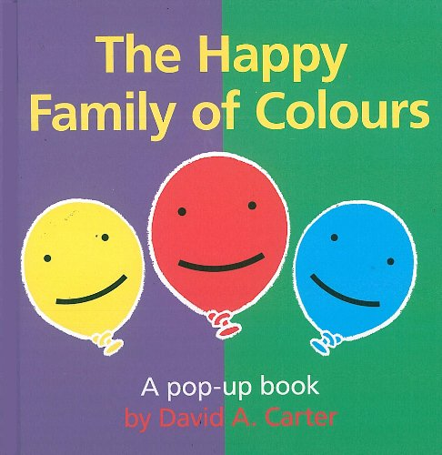 9781857078572: Happy Family of Colours (Pop Up Book)