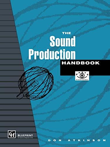 9781857130287: The Sound Production Handbook