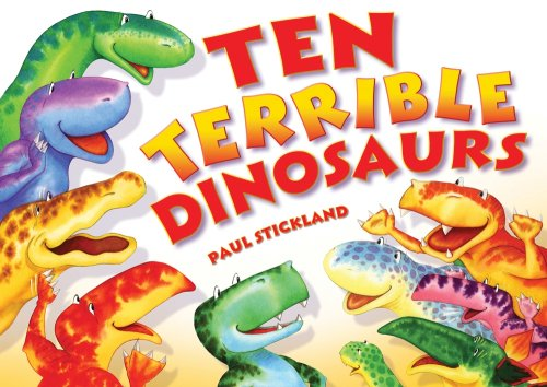 9781857142129: Ten Terrible Dinosaurs