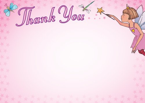 9781857143423: Fairy Thank You Cards
