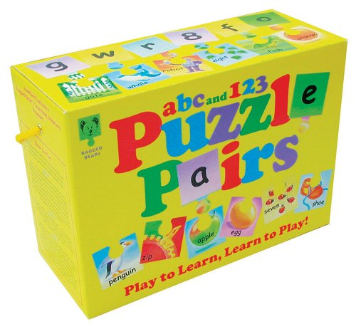 9781857143638: Ragged Bear's ABC and 123 Puzzzles Pairs