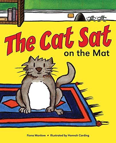9781857143737: The Cat Sat on the Mat