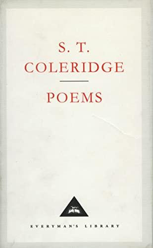 9781857150278: S. T. Colleridge Poems (Everyman's Library Classics & Contemporary Classics (UK))