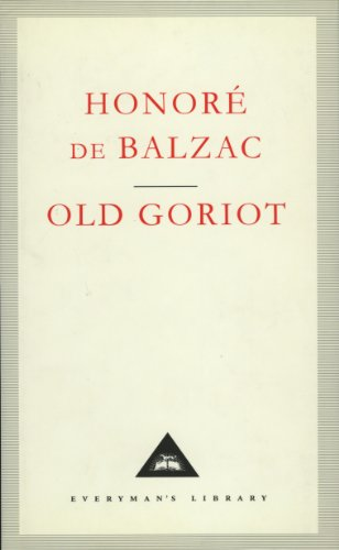 Old Goriot (Hardcover)
