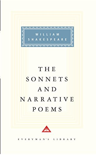 9781857150919: Sonnets And Narrative Poems (Everyman Signet Shakespeare)