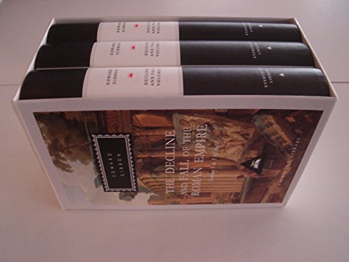 9781857150957: Decline And Fall Of The Roman Empire: Vols 1-3: v. 1-3 (Everyman's Library Classics)
