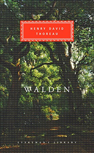 9781857151367: Walden Or, Life in the Woods (Everyman's Library Classics)