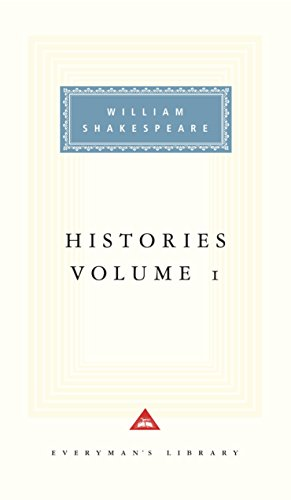 9781857151770: The Histories: v. 1 (Everyman Signet Shakespeare)