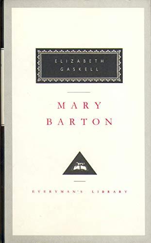 Mary Barton (Everyman's Library Classics) (1857151852) by Elizabeth Gaskell