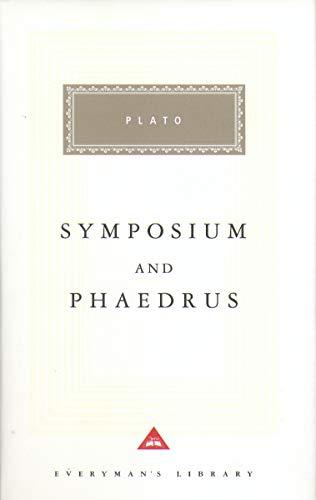 9781857151947: Symposium And Phaedrus