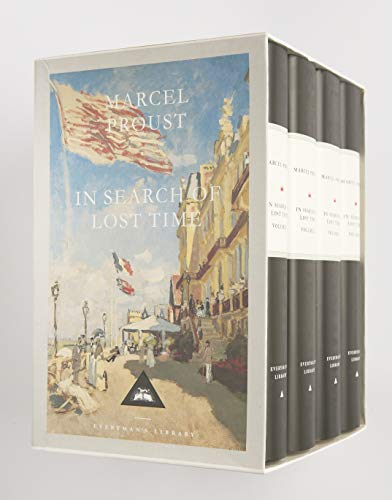 9781857152500: In Search Of Lost Time Boxed Set (4 Volumes) (Everyman's Library)