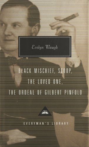 9781857152654: Black Mischief, Scoop, The Loved One And The Ordeal Of: Gilbert Pinfold