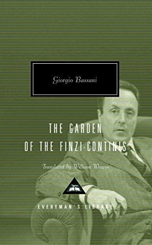 9781857152883: The Garden of the Finzi-Continis (Everyman's Library Contemporary Classics)