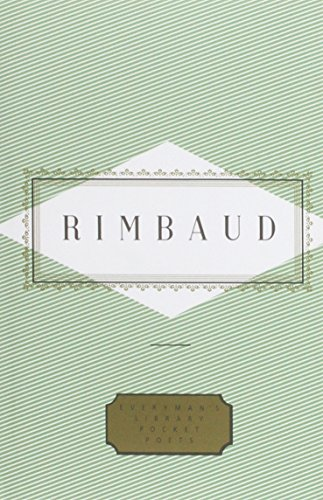 Rimbaud: Poems (Everyman's Library pocket poets) (1857157087) by Arthur Rimbaud