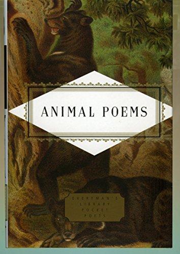 Animal Poems (Everyman's Library Pocket Poets) Hollander,