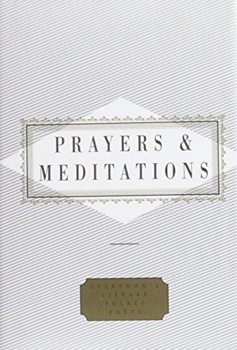PRAYERS AND MEDITATION (EVERYMAN\'S LIBRARY POCKET POETS S.): PETER WASHINGTON (EDITOR)