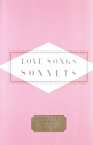 9781857157314: Love Songs Sonnets (Everyman's Library Pocket Poets)