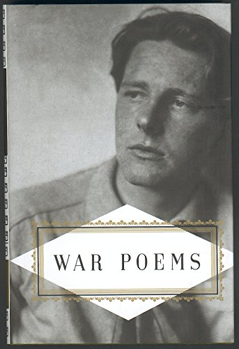 War Poems (Everyman's Library Pocket Poets) Hollander,