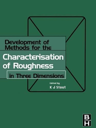 9781857180237: Development of Methods for Characterisation of Roughness in Three Dimensions (Ultra Precision Technology Series)