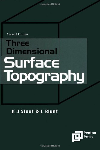 9781857180268: Three Dimensional Surface Topography (Ultra Precision Technology Series)