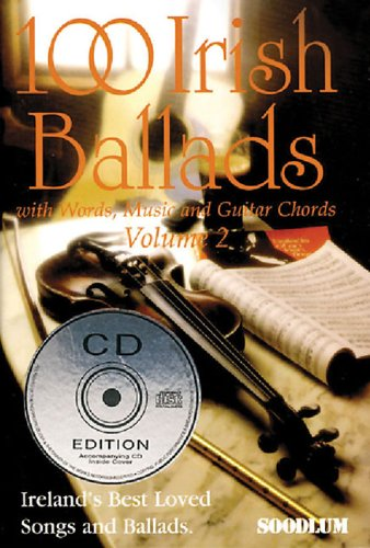 9781857200973: 100 Irish Ballads Vol.2 + CD