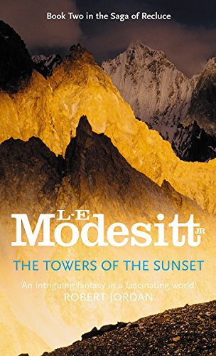 9781857232301: The Towers of the Sunset (The Saga of Recluce)