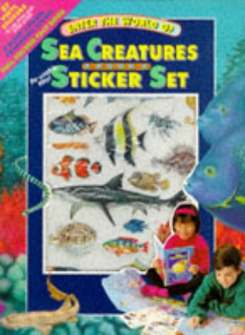 9781857240788: Sea Creatures (Panorama Stickers)