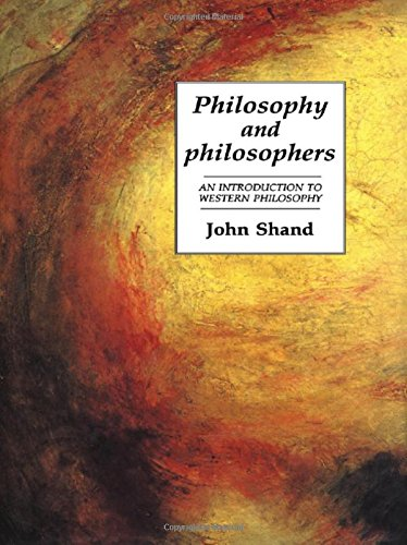 9781857280746: Philosophy and Philosophers: An Introduction to Western Philosophy