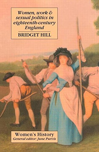 9781857282139: Women, Work And Sexual Politics In Eighteenth-Century England (Women's and Gender History)