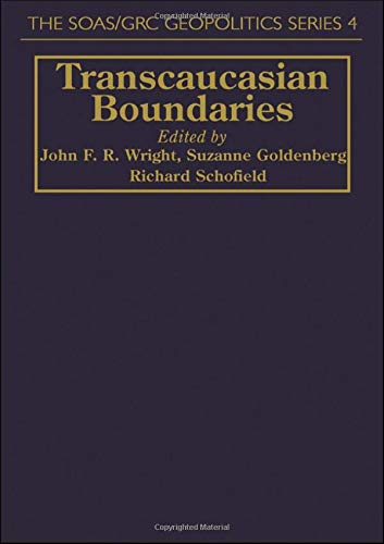 9781857282351: Transcaucasian Boundaries (Soas/Grc Geopolitics)