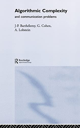 9781857284515: Algorithmic Complexity and Telecommunication Problems