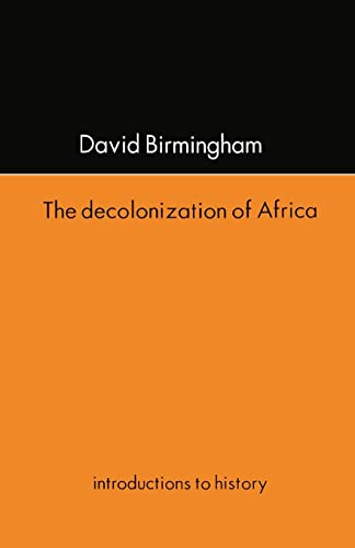 9781857285406: The Decolonization Of Africa (Introductions to History)