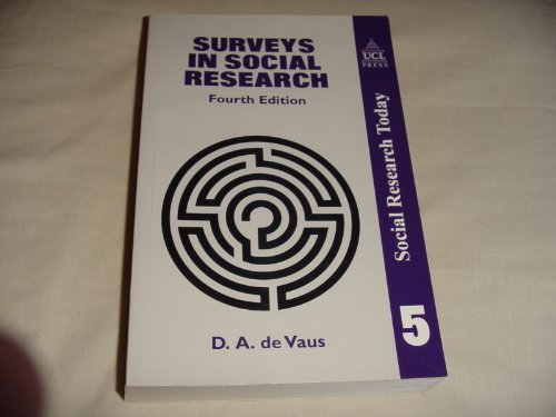 9781857285420: Surveys In Social Research (Social Research Today)
