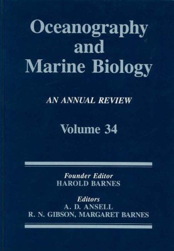 Oceanography And Marine Biology: An Annual Review, Volume 34 (Oceanography and Marine Biology - An ...