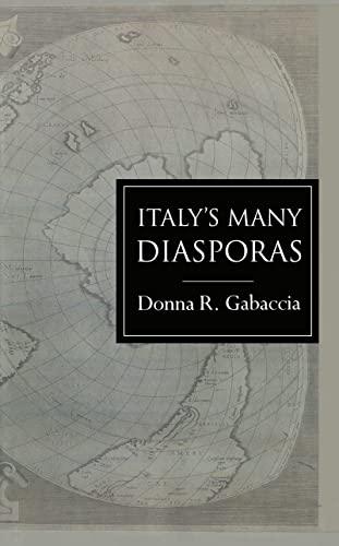 9781857285826: Italy's Many Diasporas (Global Diasporas)