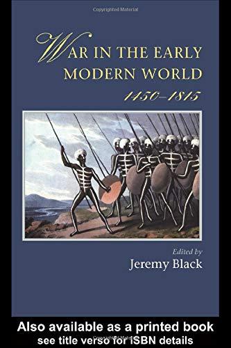 9781857286878: War In The Early Modern World (Warfare and History)