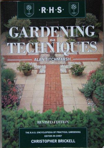 9781857329766: Rhs Garden Techniques