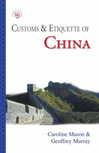 9781857333862: Customs & Etiquette of China (Simple Guides)
