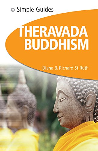 9781857334340: SIMPLE GUIDES THERAVADA BUDDHI