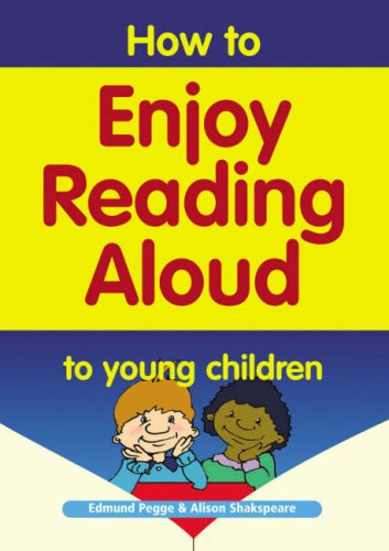 9781857411560: How to Enjoy Reading Aloud to Young Children, A parent booklet