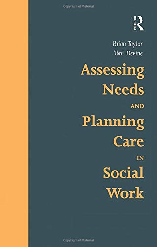 9781857421446: Assessing Needs and Planning Care in Social Work