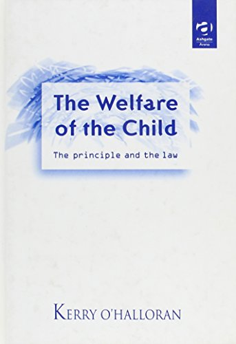 Welfare Of The Child: The Principle And The Law